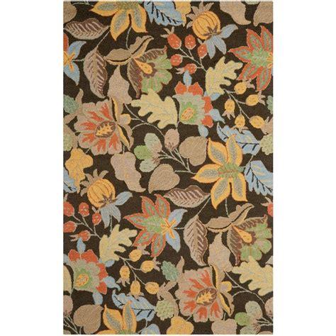 safavieh blossom rug safavieh blossom black multi 4 ft x 6 ft area rug