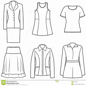 Women U2019s Clothes Stock Vector  Illustration Of Clipart