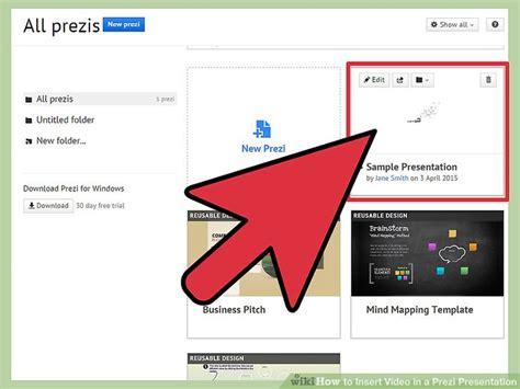 How To Insert Video In A Prezi Presentation