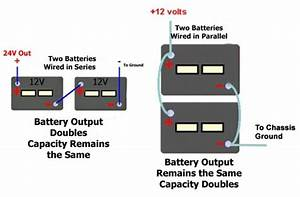 Diagram For Wiring 6 Volt Batteries In Series And In Parallel