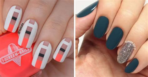 Nail Art Simple : Simple Nail Art For