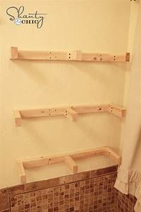 how to build wall shelves Easy DIY Floating Shelves - Floating Shelf Tutorial Video ...