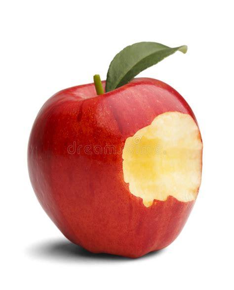 Apple Bite stock photo. Image of original, bite, healthy ...