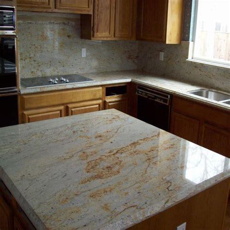china cheap price river gold granite island kitchen