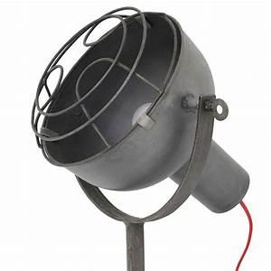 Lampe Style Industriel : lampe design industriel avec projecteur orientable lampe avenue ~ Teatrodelosmanantiales.com Idées de Décoration