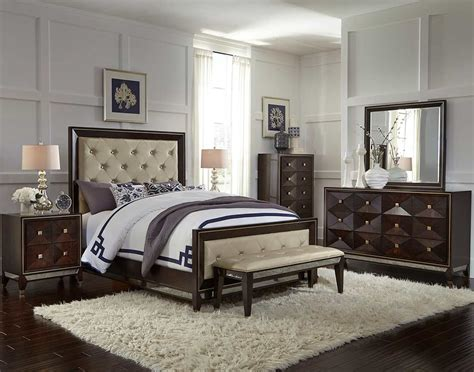 Traditional Chocolate Bed Nj Wesley  Traditional Bedroom