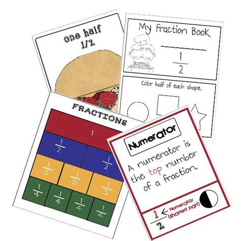 fraction lesson for kindergarten fraction lesson plans