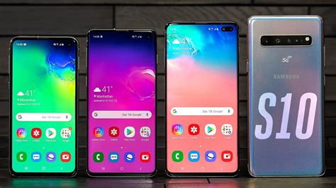 Samsung Galaxy S10 Lineup Hands On Youtube