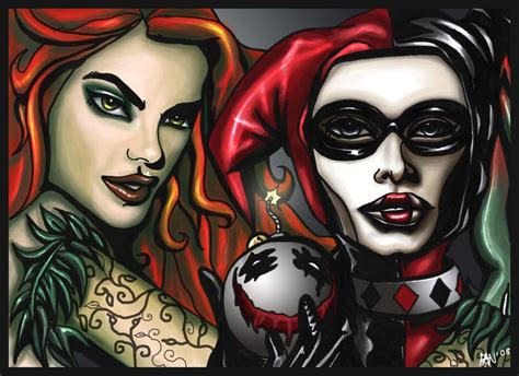 """Harley & Ivy  *(they Call Me """"bats"""")* Pinterest"""