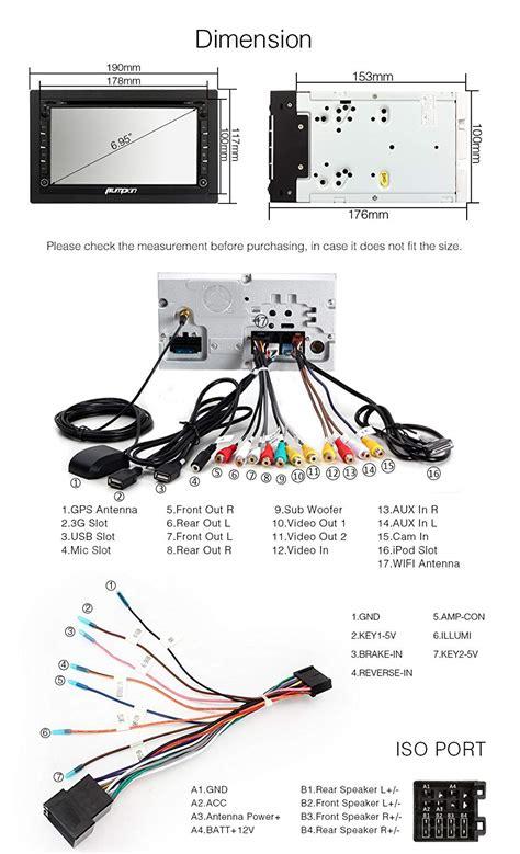 Pioneer Dvd Player Wiring Harnes Color Code by 21 Pioneer Avh X1600dvd Wiring Diagram
