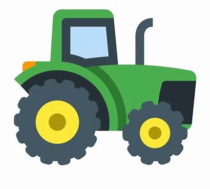 Tractor Clipart Icon Transparent Smoke Granja Traktor
