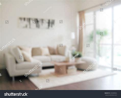 blur image modern living room interior stock photo