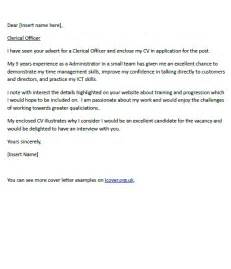 Ict Officer Cover Letter Cover Letter For A Clerical Officer Icover Org Uk
