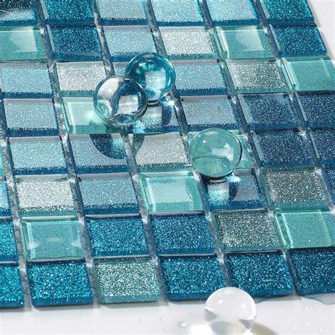 backsplash tile for kitchen peel and stick blue glass tile bathroom floor clear mosaic