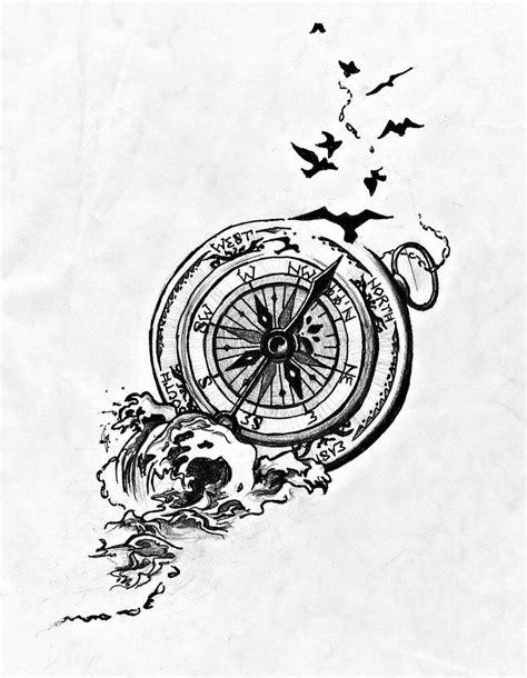 Compass tattoo Más | Basic tattoos, Neck tattoo, Tattoos