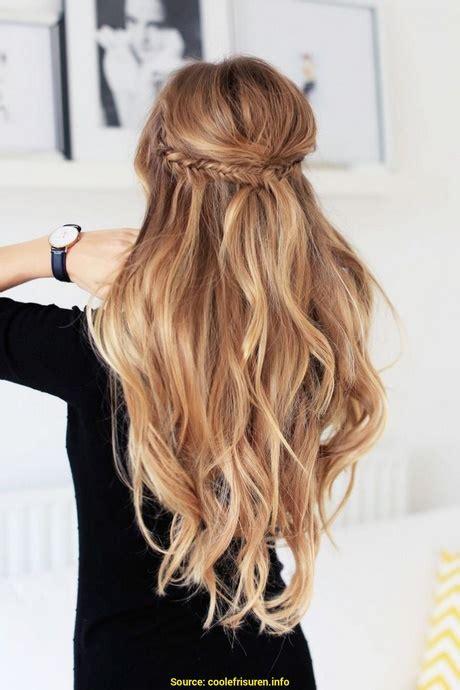 festliche frisuren lange haare locken