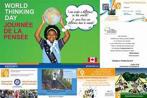 Girl Guides And Girl Scouts Celebrate World Thinking Day