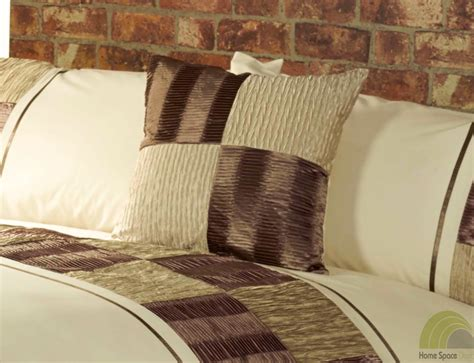 Chocolate Brown Duvet Covers by Chocolate Brown Quilt Duvet Cover 4 Sizes Or Throw Or
