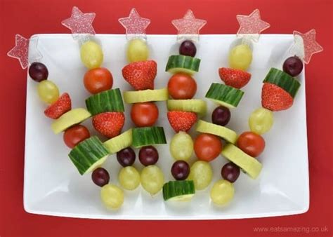 Christmas Fruit & Veg Snack Skewers One Bedroom Apartments In Houston Tx Small Bathroom Design Photos A Box Walmart Two Apartment For Rent Mansion Furniture Spongebob Arts And Crafts Sets