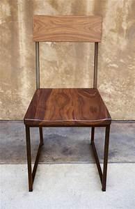 Metal And Woods : wood metal dining chair urban kitchen shop ~ Melissatoandfro.com Idées de Décoration