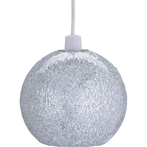 silver sequin l shade sequin shade silver at homebase be inspired and make