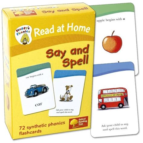 Read At Home Floppy's Phonics Flashcards Say And Spell  Scholastic Shop