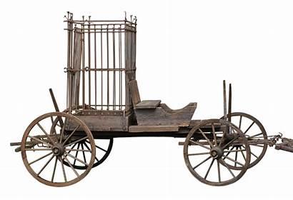 Cage Cart Train Prison Fools Coach Joliet
