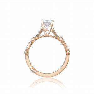 tacori engagement rings sculpted crescent rose setting With tacori wedding rings rose gold