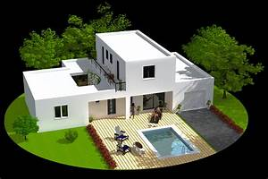 logiciel plan maison facile 14 plan interieur maison 3d With creation de maison 3d gratuit