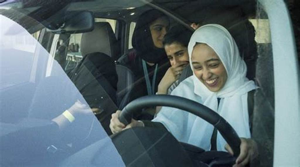 #Joy #And #Nerves #For #Saudi #Women #On #First #Ever #Driving