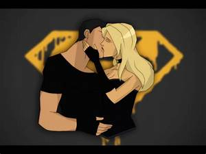Young Justice images Superboy and Black Canary kiss 1 HD ...