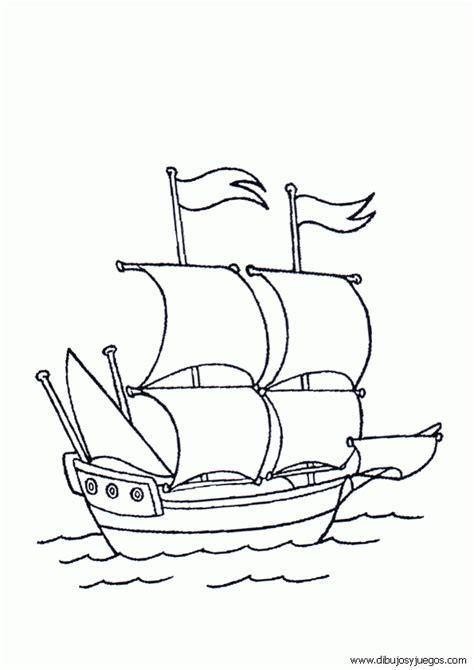 Velas De Barcos Para Colorear by Dibujo De Barcos Con Velas Para Colorear 042 Dibujos Y