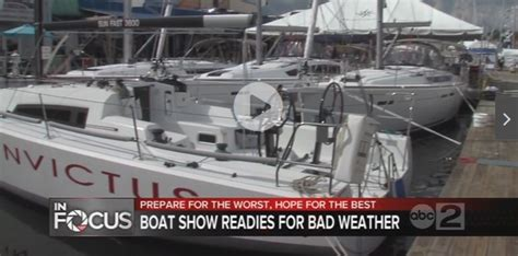 Paul Jacobs Annapolis Boat Show by Annapolis Boat Show Preparing For Hurricane Matthew