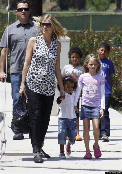 First henry günther, 12 years, then johan riley, 11 years heidi klum and seal's children are. Heidi and Seal gather to celebrate Leni's birthday   News ...