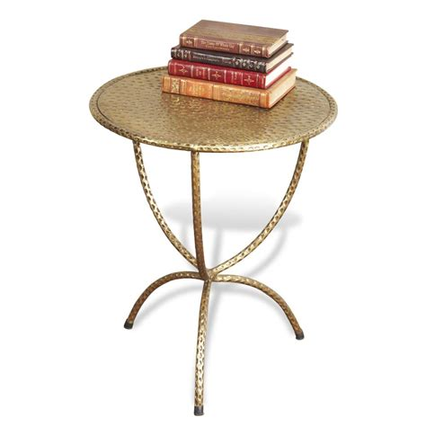 antique brass side table loreto antique brass iron side table kathy kuo home