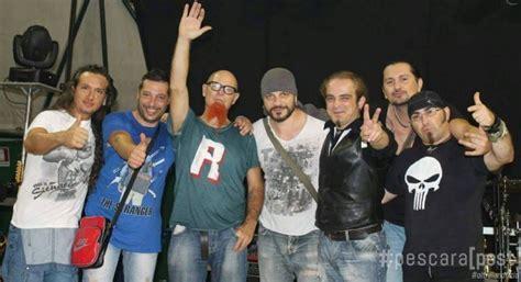 Band Di Vasco rosciano concerto dei kom per il primo compleanno della