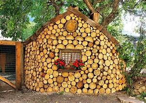 Cordwood Construction • Nifty Homestead