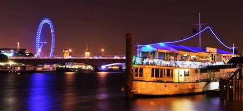 years eve    yacht london embankment