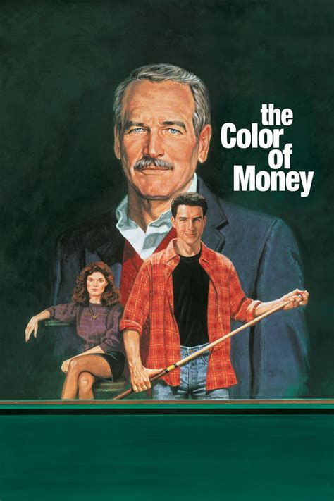 color of the the color of money 1986 posters the database