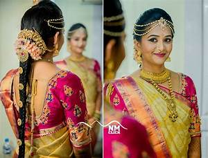 South Indian Bridal Hairstyles Wedding Tutorial HairStyles