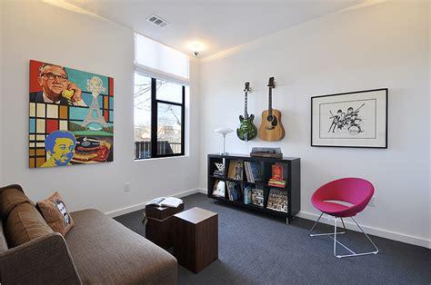 home  lounge austin interior design  room fu knockout interiors