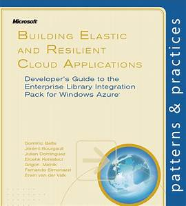 Free Ebook  Building Elastic And Resilient Cloud