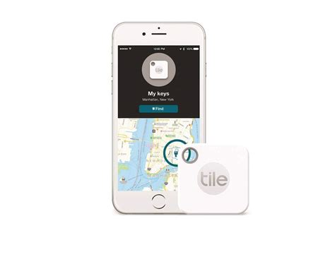 Tile Bluetooth Finder by Tile Mate Bluetooth Key Finder 187 Gadget Flow