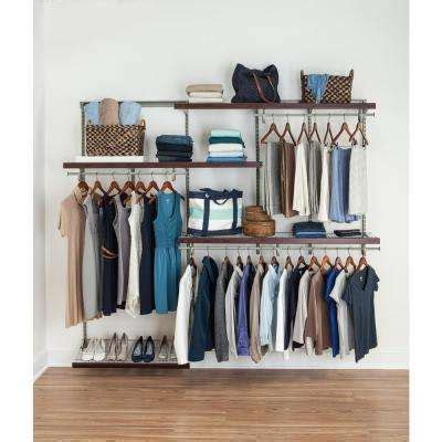 Closet Wire Organizer Systems by Wire Closet Systems Wire Closet Organizers The Home Depot