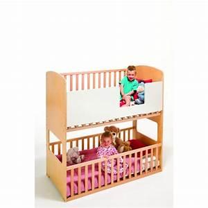 Lit Enfant Double : lit double b b shanticot bouleau 499 ~ Teatrodelosmanantiales.com Idées de Décoration