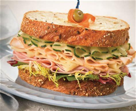 american deli sandwich recipes turkey premium deli recipes boar s head