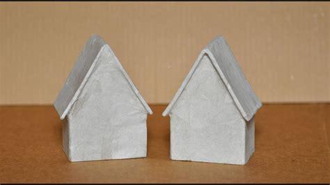 paper mache house youtube