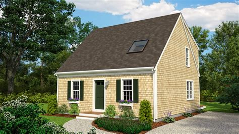 Cape Cod Style Homes Plans by Cape Cod House Plans With Attached Garage