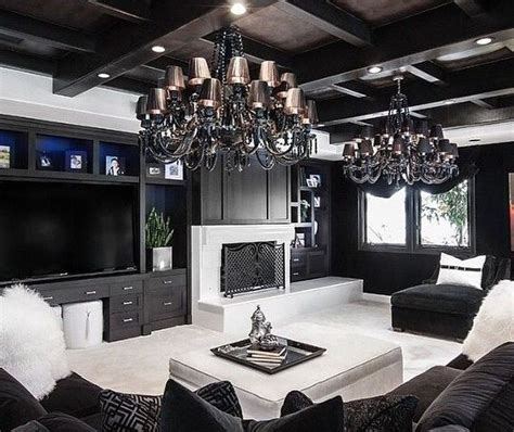 Living Room Decor Ideas Black And White by 48 Beautiful Black And White Interior Design Living Room