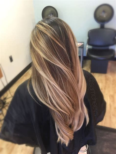 Types Of Brown Hair by Warm Bright White Platinum Highlights For